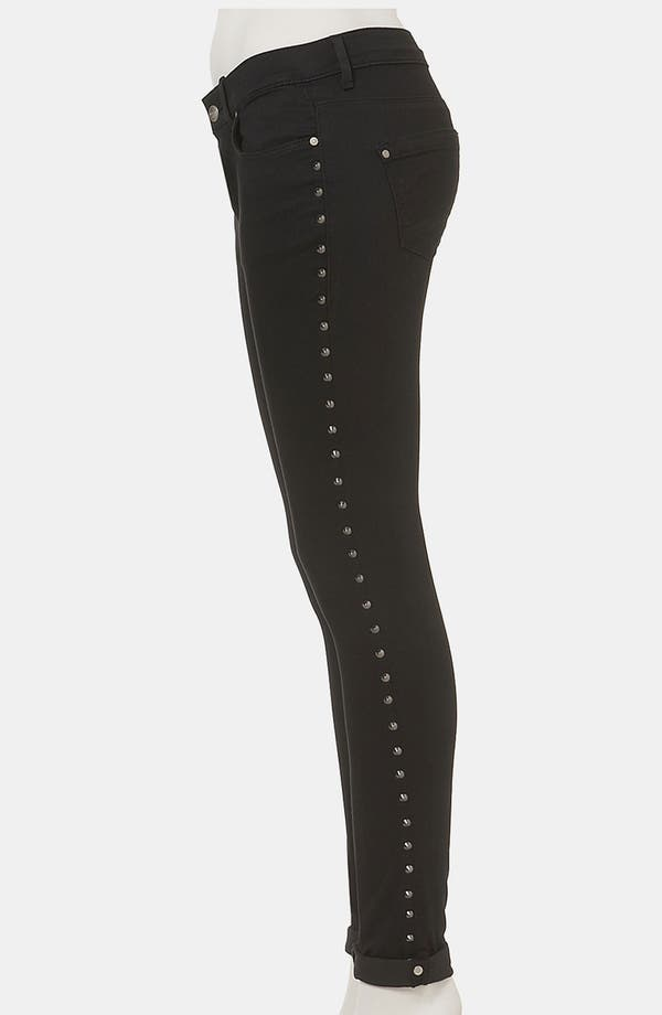 Alternate Image 4  - Topshop Moto 'Leigh' Studded Skinny Jeans
