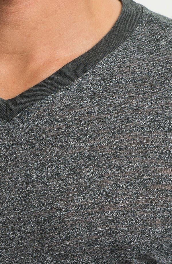 Alternate Image 3  - Threads for Thought V-Neck T-Shirt