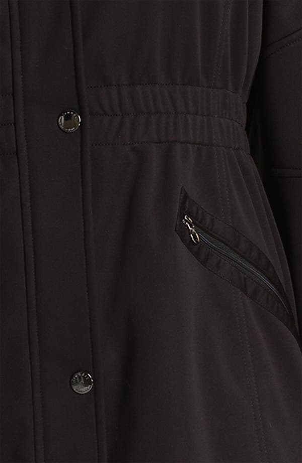 Alternate Image 3  - Laundry by Shelli Segal Softshell Anorak (Plus) (Nordstrom Exclusive)