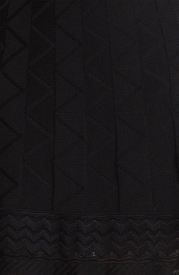 Alternate Image 3  - M Missoni Tonal Zigzag Skirt