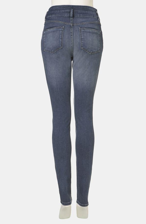 Alternate Image 2  - Topshop Moto 'Kristen' High Waist Skinny Jeans (Midstone)