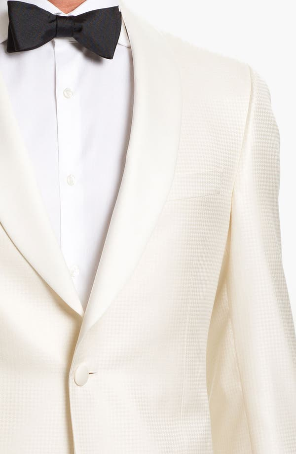 Alternate Image 3  - Samuelsohn Jacquard Dinner Jacket