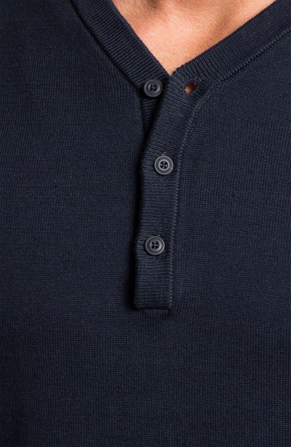 Alternate Image 3  - Public Opinion Y-Neck Henley Sweater