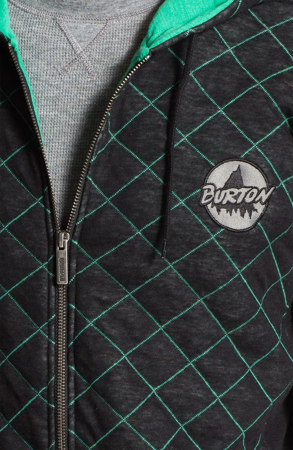 Alternate Image 3  - Burton 'Issue' Quilted Zip Hoodie