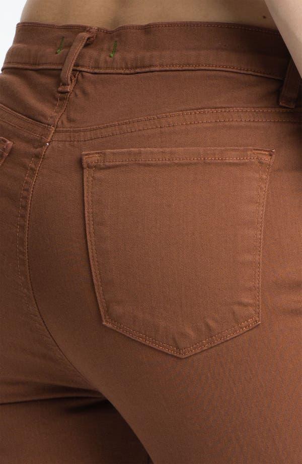 Alternate Image 3  - J Brand 'Maria' High Rise Skinny Stretch Jeans (Bourbon)