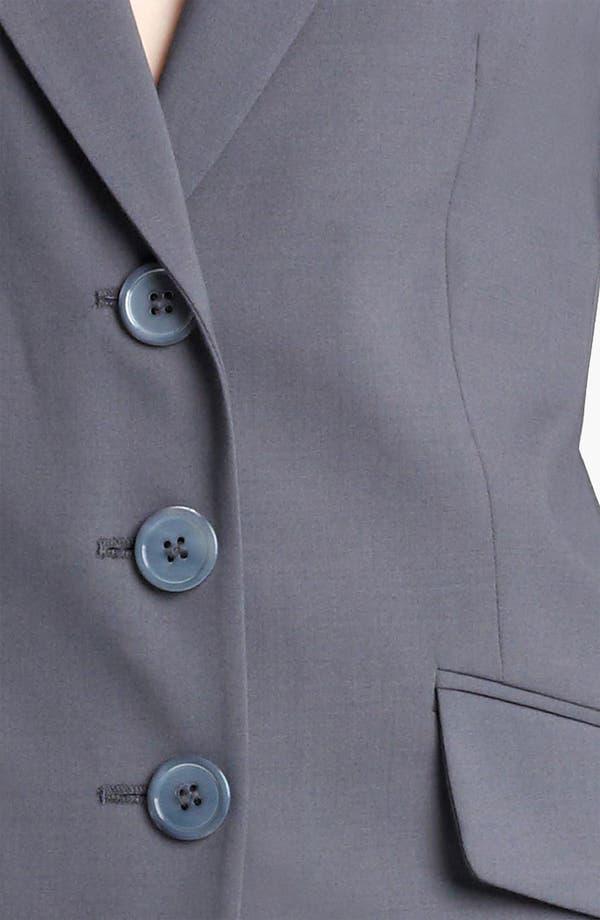 Alternate Image 5  - Armani Collezioni Stretch Wool Jacket