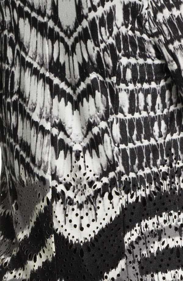 Alternate Image 3  - Alberto Makali Perforated Print Cardigan