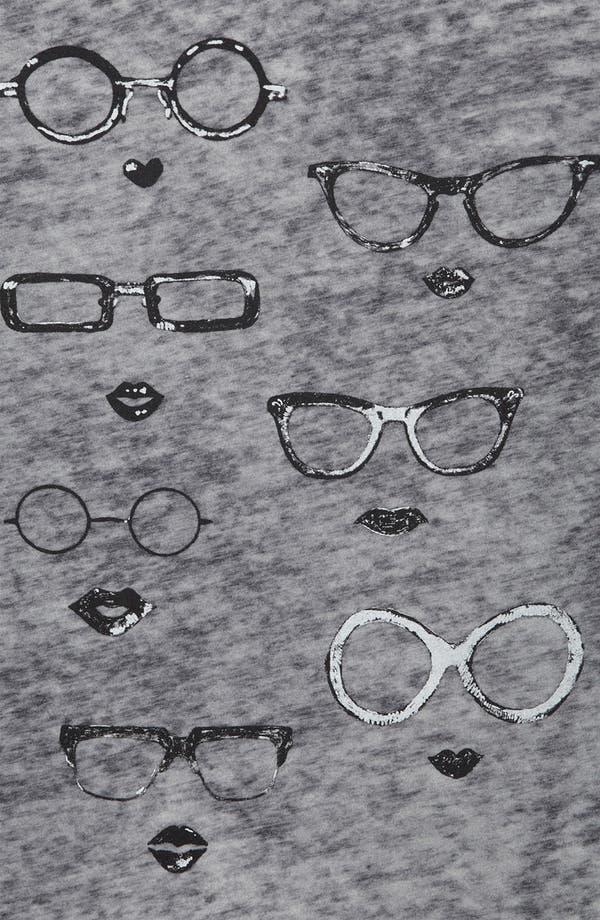 Alternate Image 3  - Topshop 'Specs' Graphic Tee