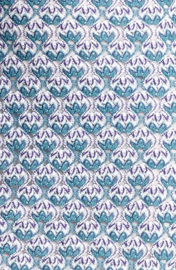 Alternate Image 3  - Missoni Long Sleeve Flame Stitch Dress