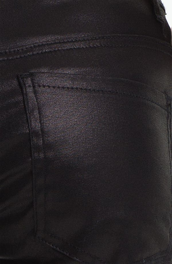 Alternate Image 3  - Liverpool Jeans Company 'Abby' Coated Skinny Jeans (Petite) (Online Only)