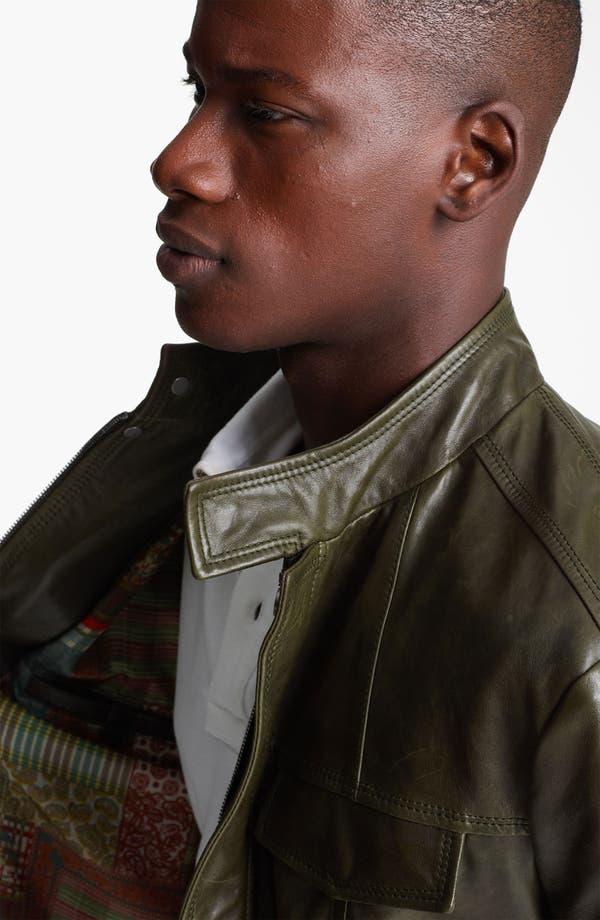 Alternate Image 3  - Etro Leather Moto Jacket