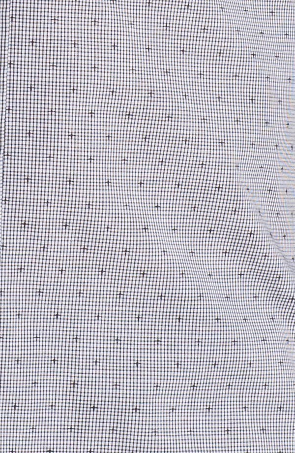 Alternate Image 3  - Topman Extra Trim Grid Check Shirt