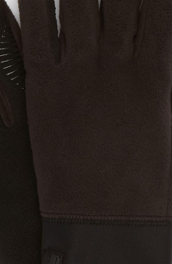 Alternate Image 2  - U|R Tech Fleece Gloves