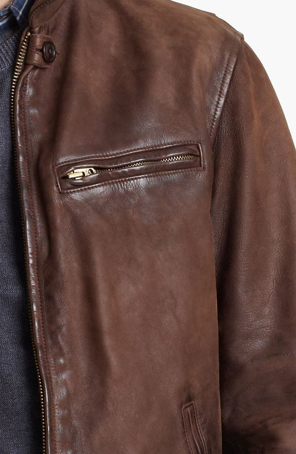 Alternate Image 3  - Todd Snyder 'Dean' Leather Jacket