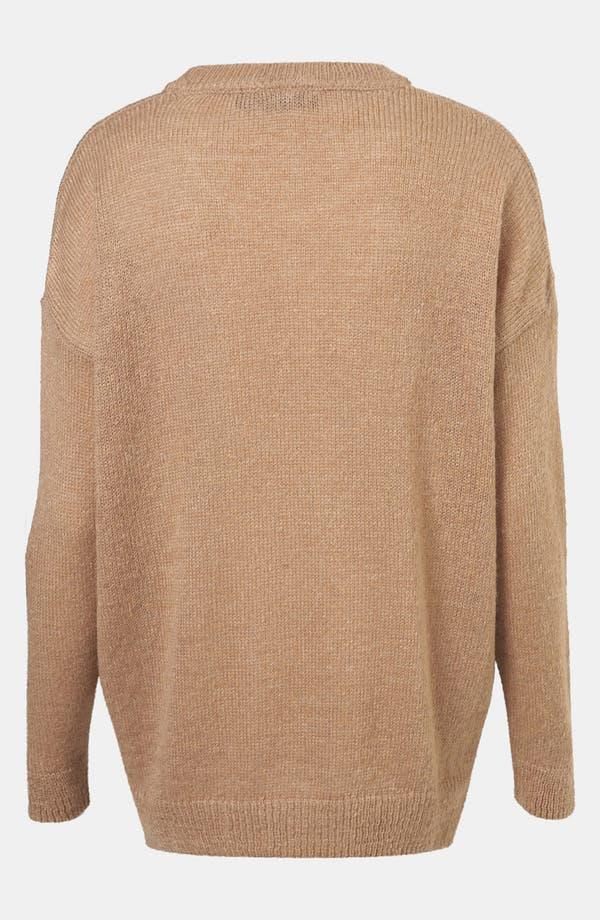Alternate Image 2  - Topshop 'Cat Burglar' Graphic Sweater (Petite)