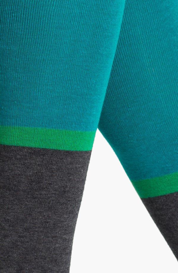 Alternate Image 2  - Hue Colorblock Knee Socks