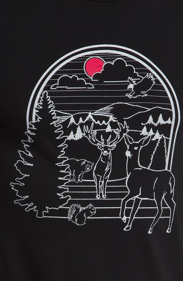 Alternate Image 3  - Toddland 'Linear Nature' T-Shirt