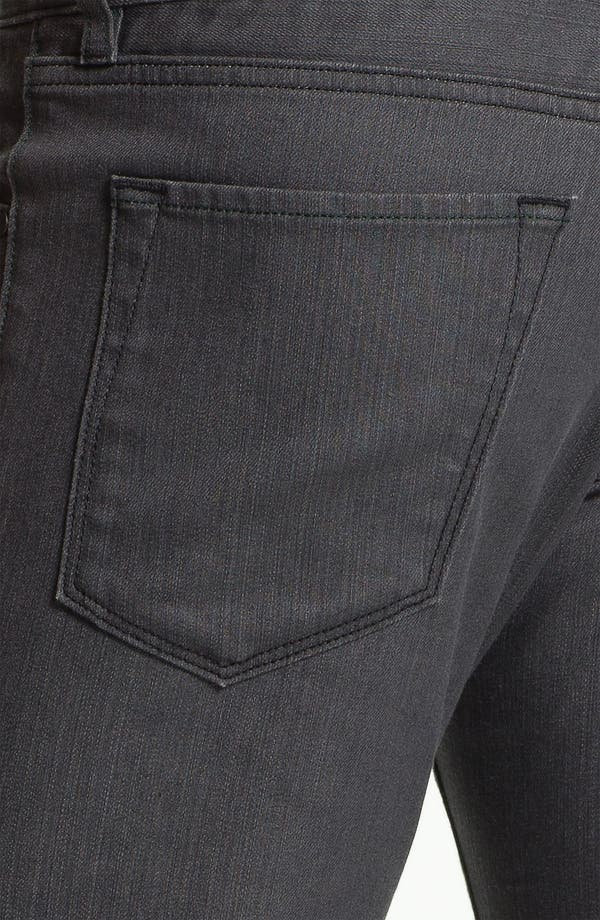 Alternate Image 4  - BOSS Black 'Maine' Straight Leg Jeans (Grey Denim)