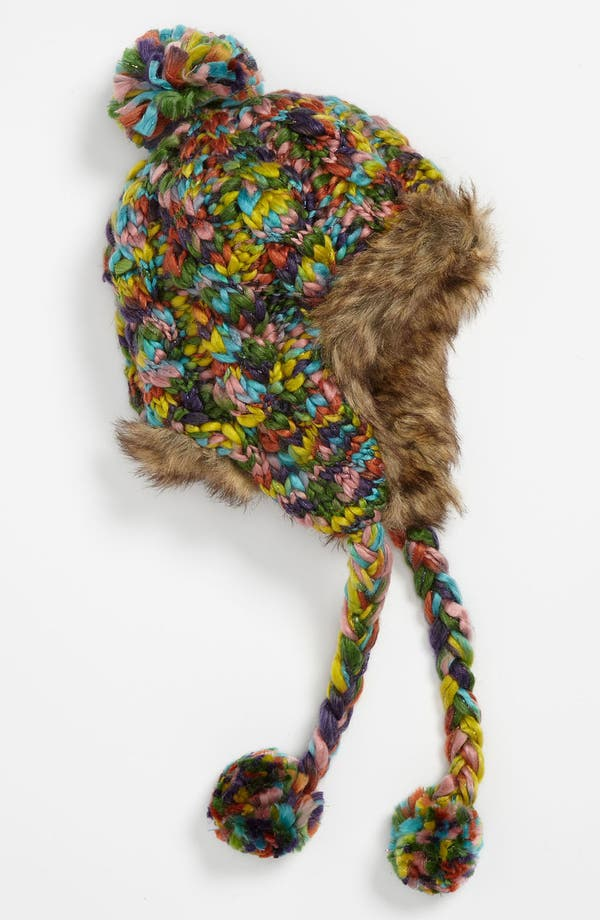 Main Image - San Diego Hat Faux Fur Lined Hat (Girls)