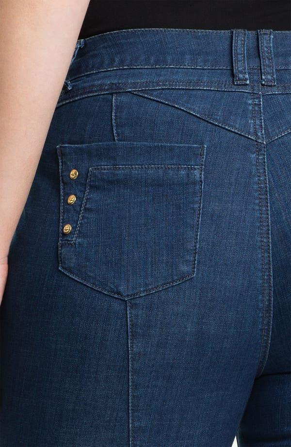 Alternate Image 3  - Mynt 1792 'Midtown' Skinny Jeans (Plus)