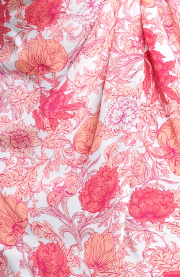 Alternate Image 3  - Thakoon Floral Print Draped Crêpe de Chine Dress