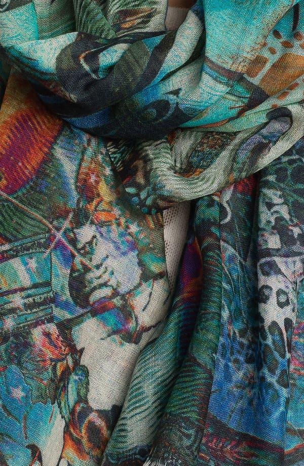 Alternate Image 2  - Shawlux 'Cancer' Cashmere & Silk Scarf