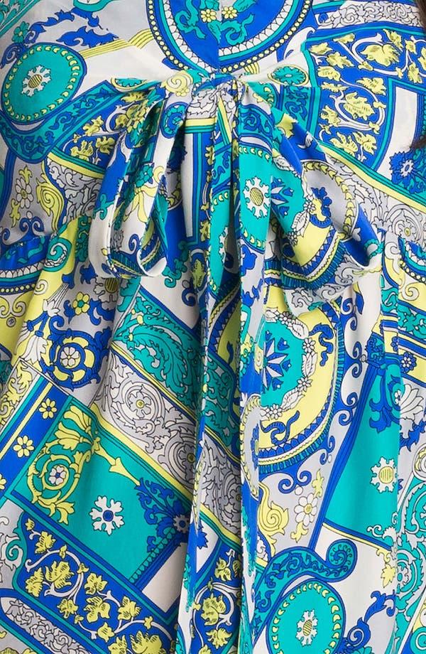 Alternate Image 3  - ALICE & TRIXIE 'Savannah' Convertible Tie Silk Maxi Dress