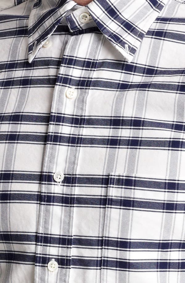 Alternate Image 4  - Thom Browne Check Oxford Shirt