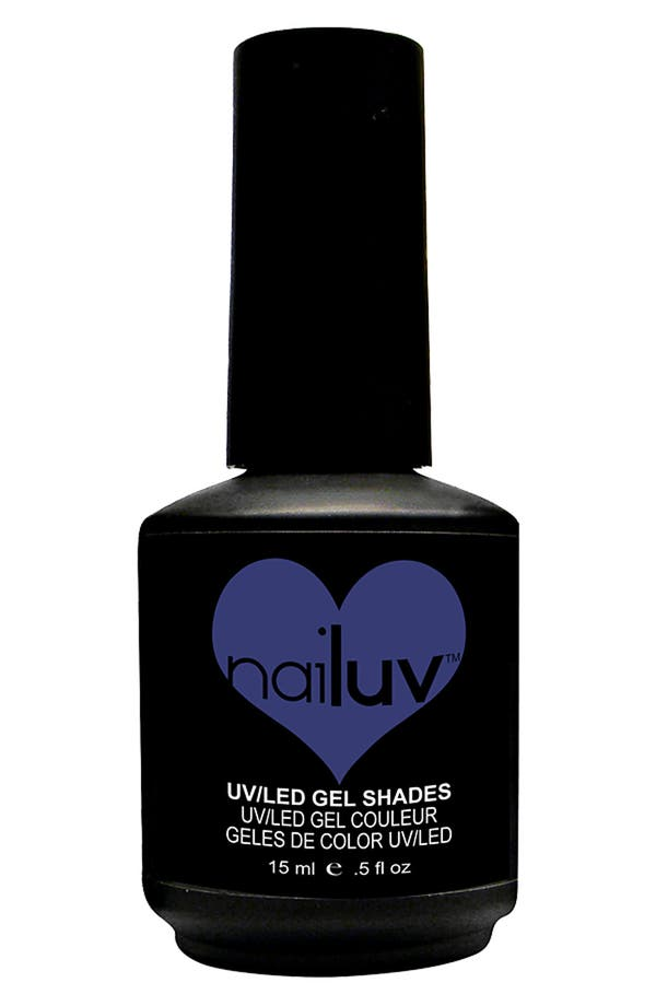 Alternate Image 1 Selected - NaiLuv™ 'Blue Illusion' Gel Nail Polish