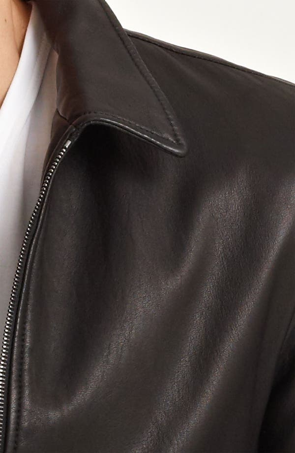 Alternate Image 3  - Dolce&Gabbana Leather Biker Jacket