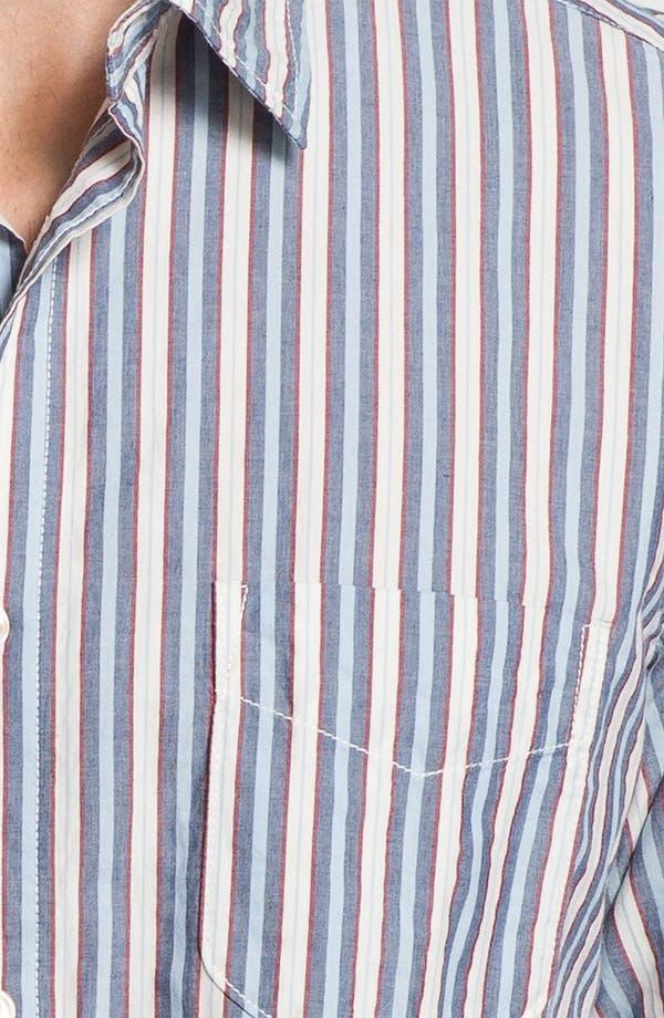 Alternate Image 3  - Façonnable Tailored Denim Regular Fit Sport Shirt