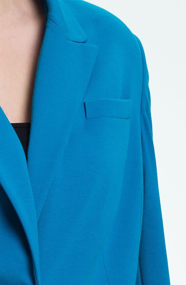 Alternate Image 3  - Vince Camuto One Button Blazer (Plus)