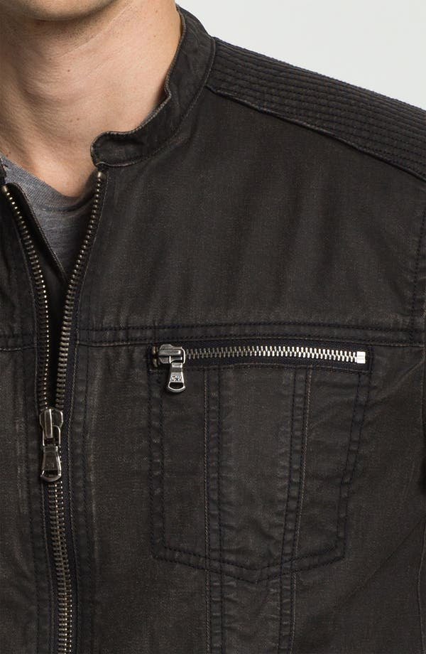 Alternate Image 3  - John Varvatos Star USA Denim Moto Jacket