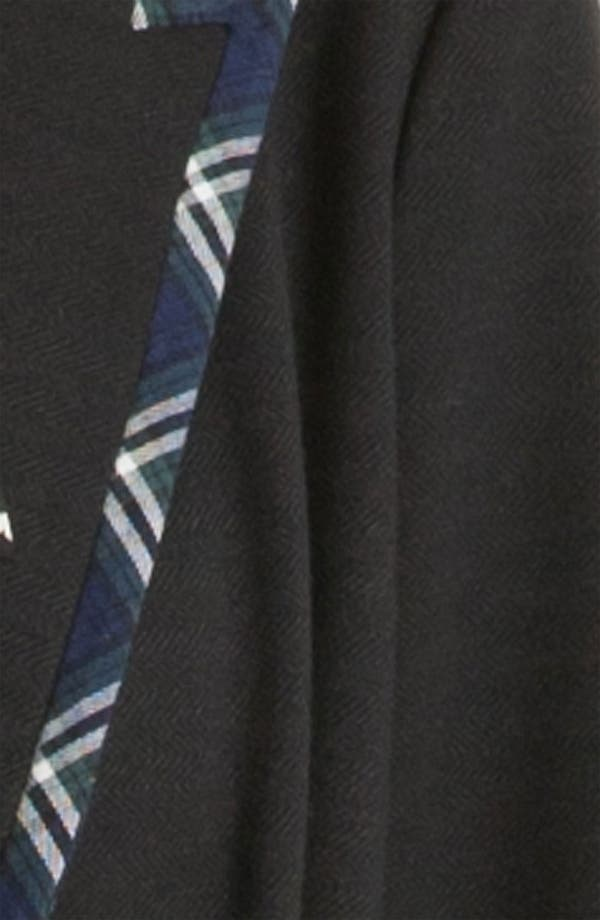 Alternate Image 3  - Gibson Preppy Plaid Trim Blazer (Petite)