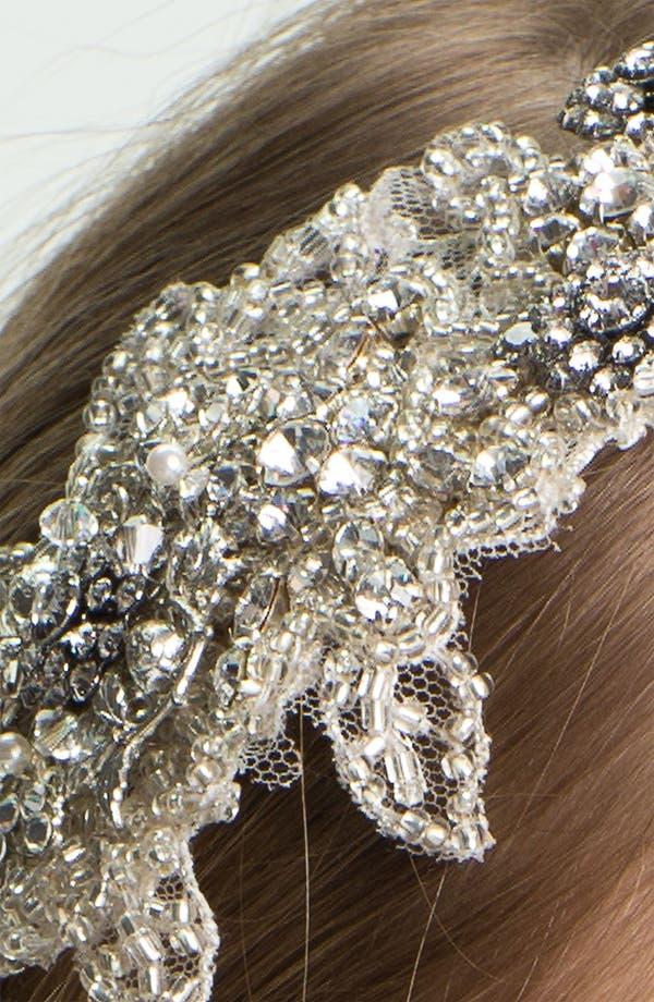 Alternate Image 2  - Halo & Co 'Inez' Vintage Crystal Headband