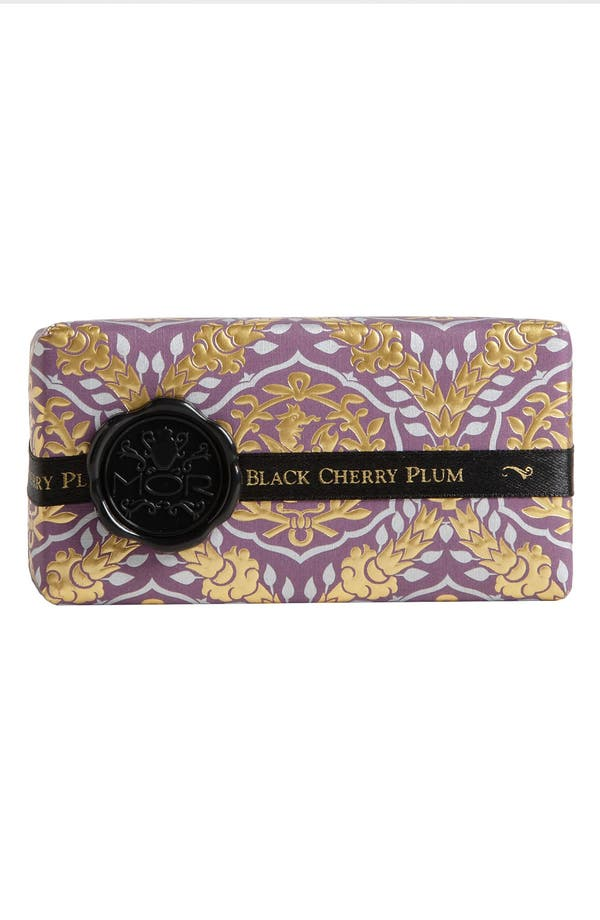 Alternate Image 1 Selected - MOR 'Emporium Black Collection - Black Cherry Plum' Soap Bar