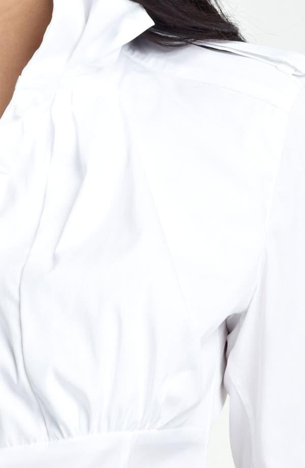 Alternate Image 3  - Burberry Prorsum Ruffled Collar Shirt