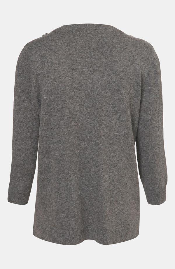 Alternate Image 2  - Topshop Embellished Harness Sweater