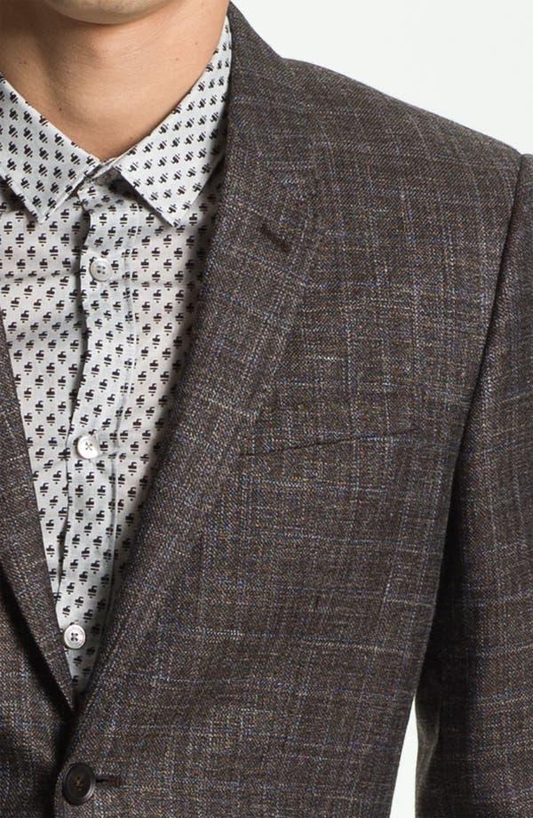 Alternate Image 3  - Burberry Prorsum Plaid Twill Sportcoat