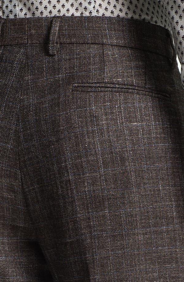 Alternate Image 3  - Burberry Prorsum Slim Fit Plaid Twill Trousers