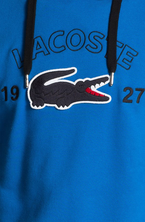 Alternate Image 3  - Lacoste Cotton Hoodie