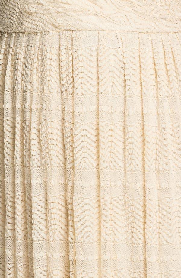 Alternate Image 3  - Donna Ricco Surplice Maxi Dress (Plus)