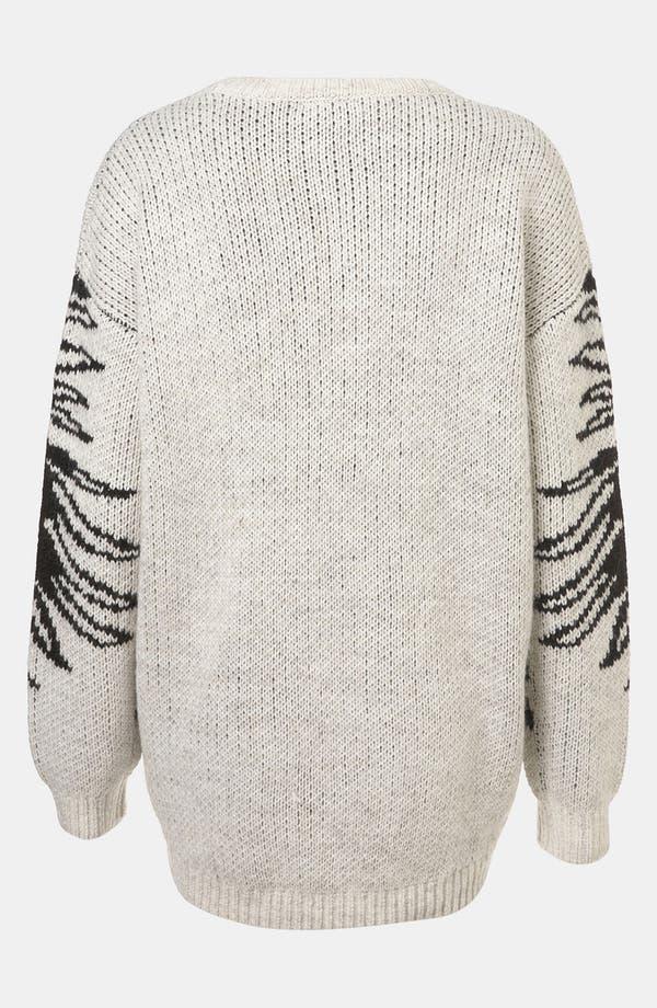 Alternate Image 2  - Topshop 'Mirror Eagle' Sweater