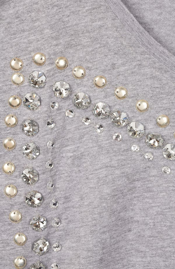 Alternate Image 3  - Topshop Embellished Tee (Petite)