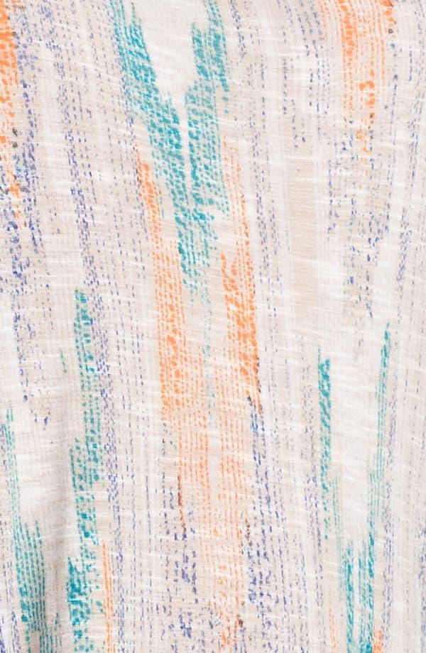 Alternate Image 3  - Ella Moss 'Santa Fe' Split Sleeve Print Top