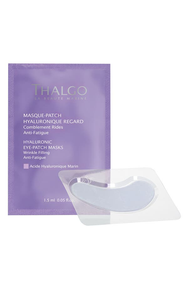 Alternate Image 1 Selected - Thalgo Hyaluronic Eye Patch Mask