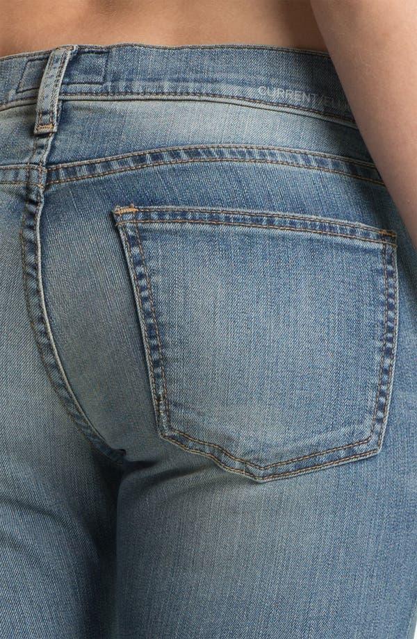 Alternate Image 3  - Current/Elliott 'The Rolled' Skinny Jeans (Bleecker)