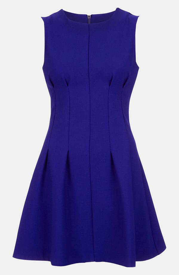 Alternate Image 1 Selected - Topshop Seamed Waist Party Dress