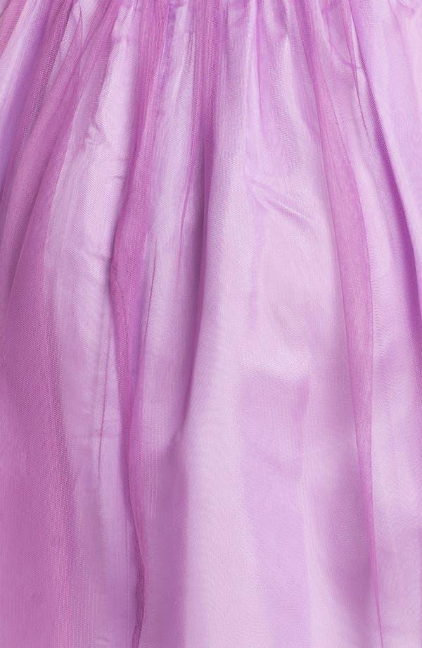 Alternate Image 3  - Donna Morgan 'Kaylin' Strapless Tulle Overlay Fit & Flare Dress