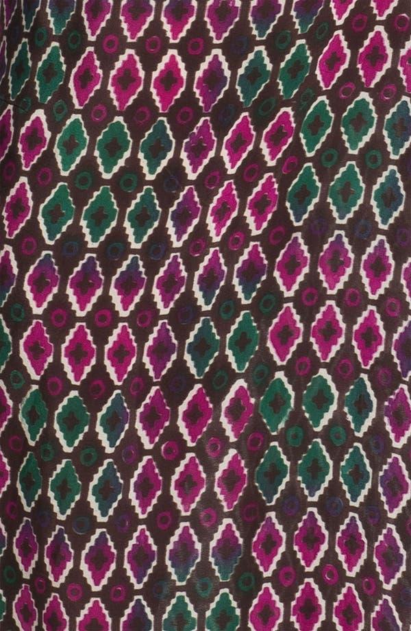 Alternate Image 3  - Tolani Silk Palazzo Pants (Plus Size) (Online Only)